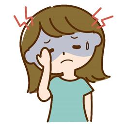 頭痛(筋緊張性の頭痛)